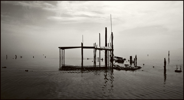 Encrusted Trailers, Bombay Beach © Stéphane Louis, 2008