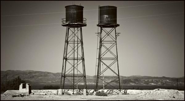 Abandoned Mine Land, Death Valley © Stéphane Louis, 2008