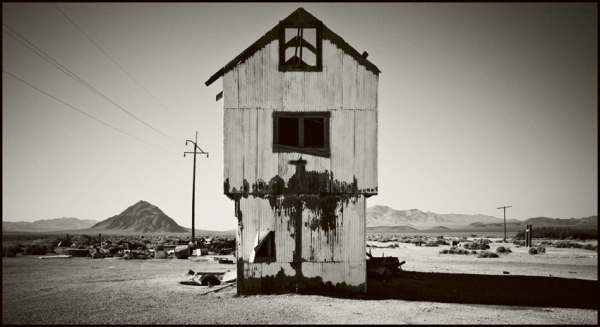 Abandoned Mine Land, Death Valley © Stéphane Louis, 2008