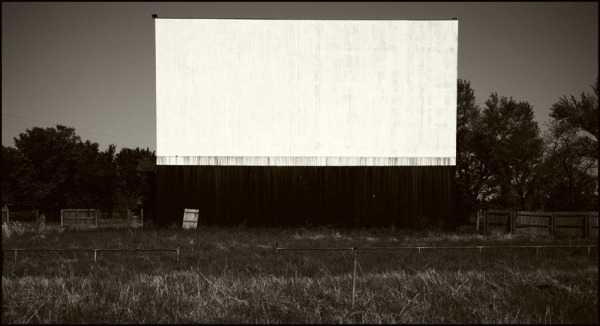 Abandoned Drive-In, Oklahoma © Stéphane Louis, 2008
