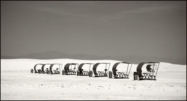 White Sand Dunes, New Mexico © Stéphane Louis, 2008