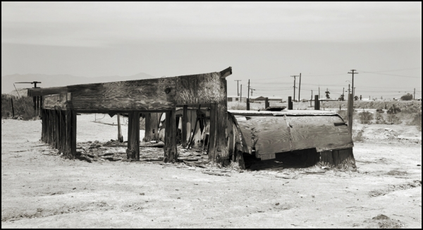 Encrusted Trailers, Bombay Beach © Stéphane Louis, 2008