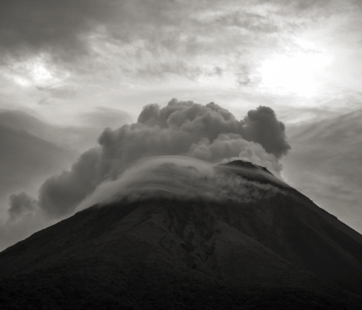 Volcan Arenal © Stéphane Louis, VIII. 07