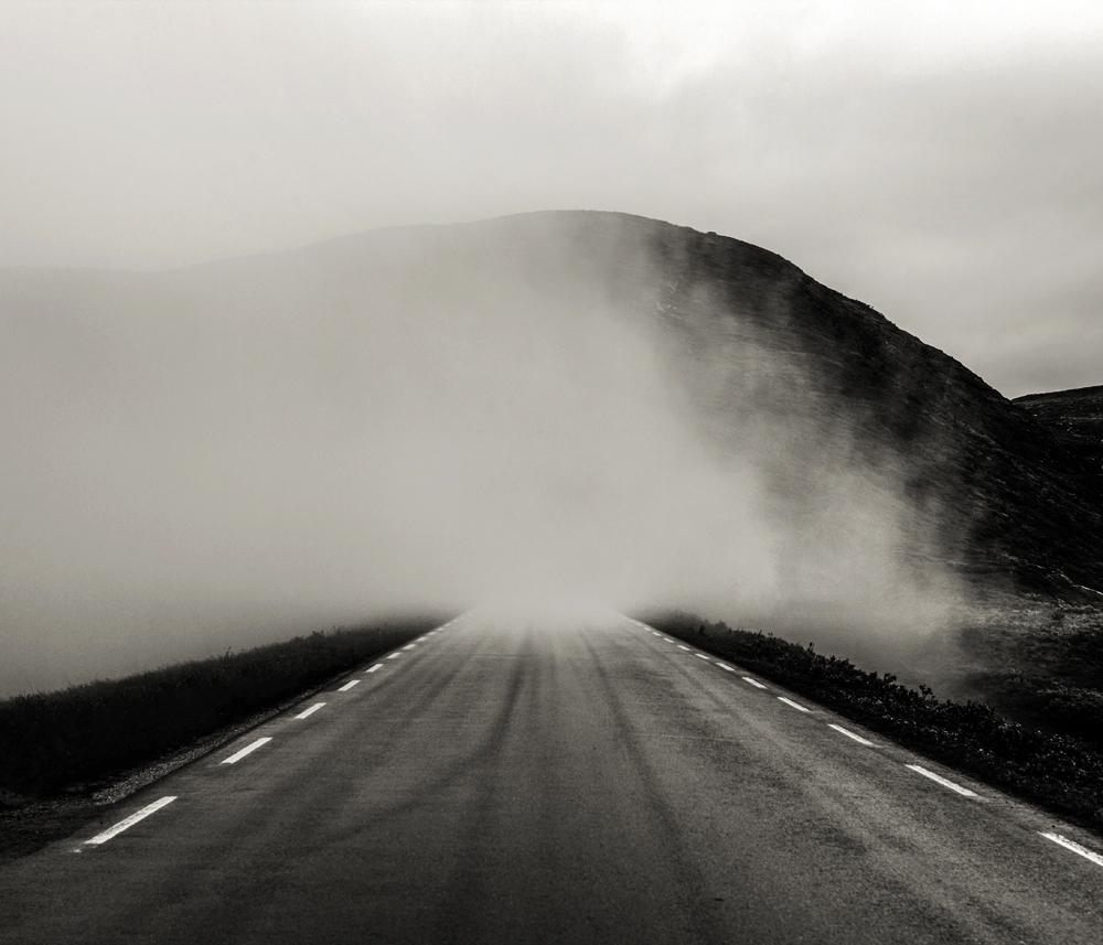 Route, Norvège © Stéphane Louis, VIII. 10