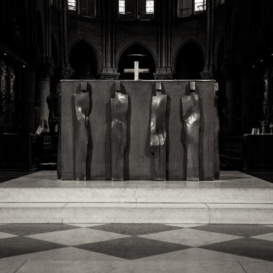 Autel de Notre Dame de Paris © Stéphane Louis, 2014