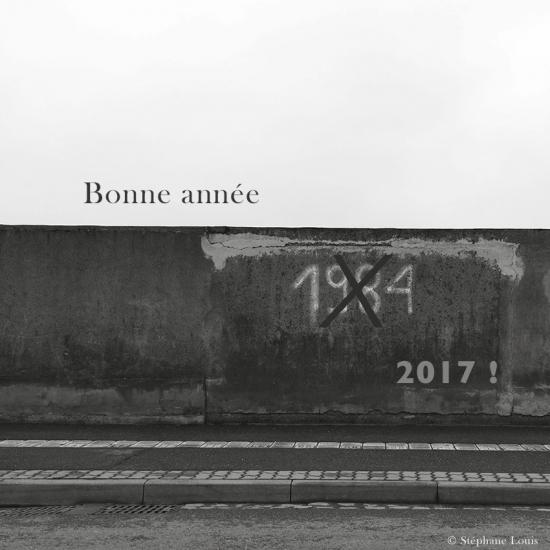 Voeux © Stéphane Louis, 2017