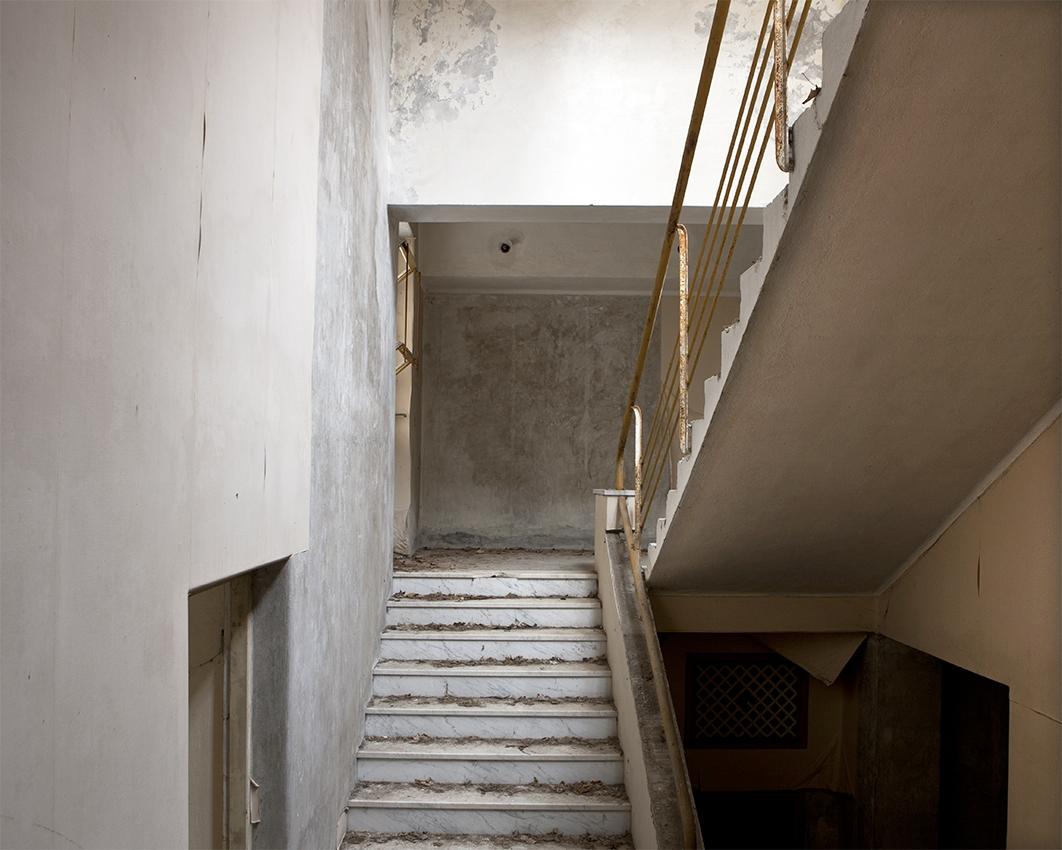 Cage d'escaliers © Stéphane Louis, 2012