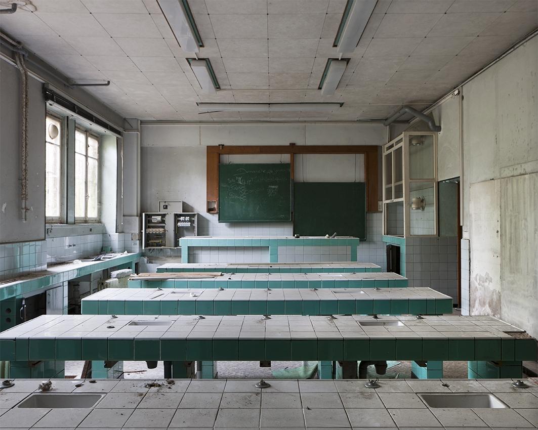 Salle de TP © Stéphane Louis, 2012