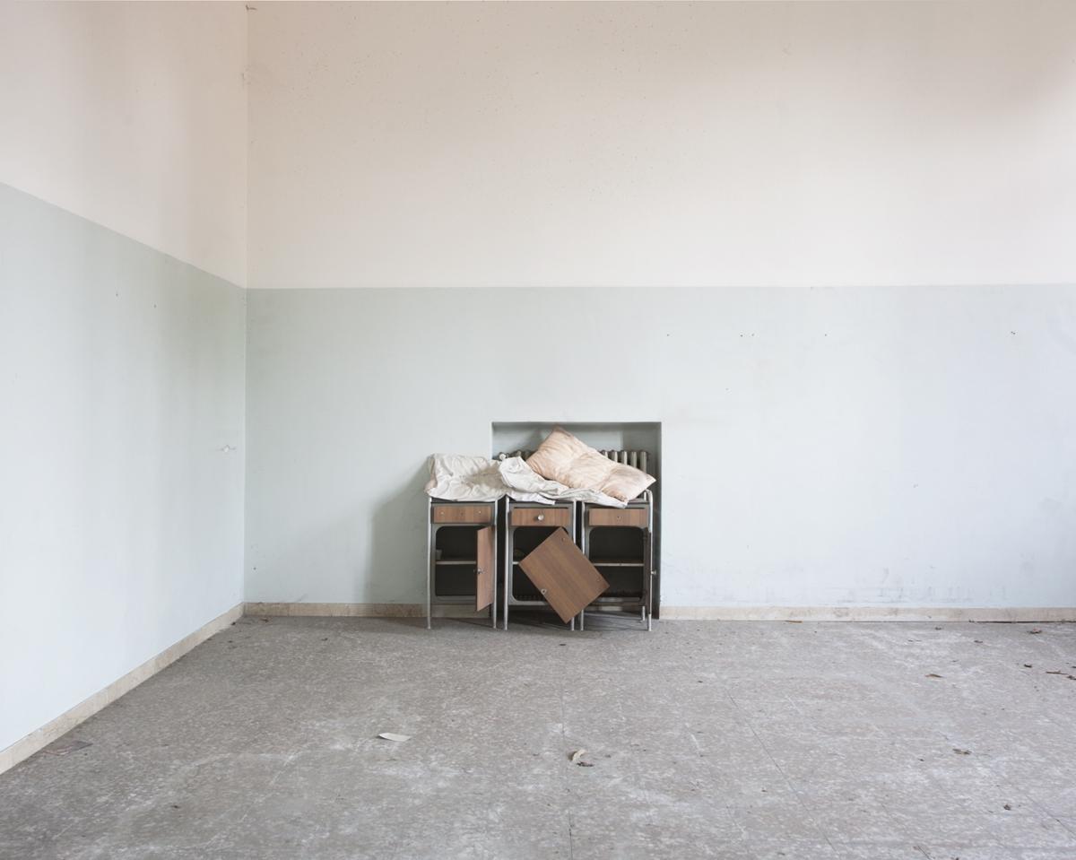 Hôpital psychiatrique, Italie © Stéphane Louis, VI. 10