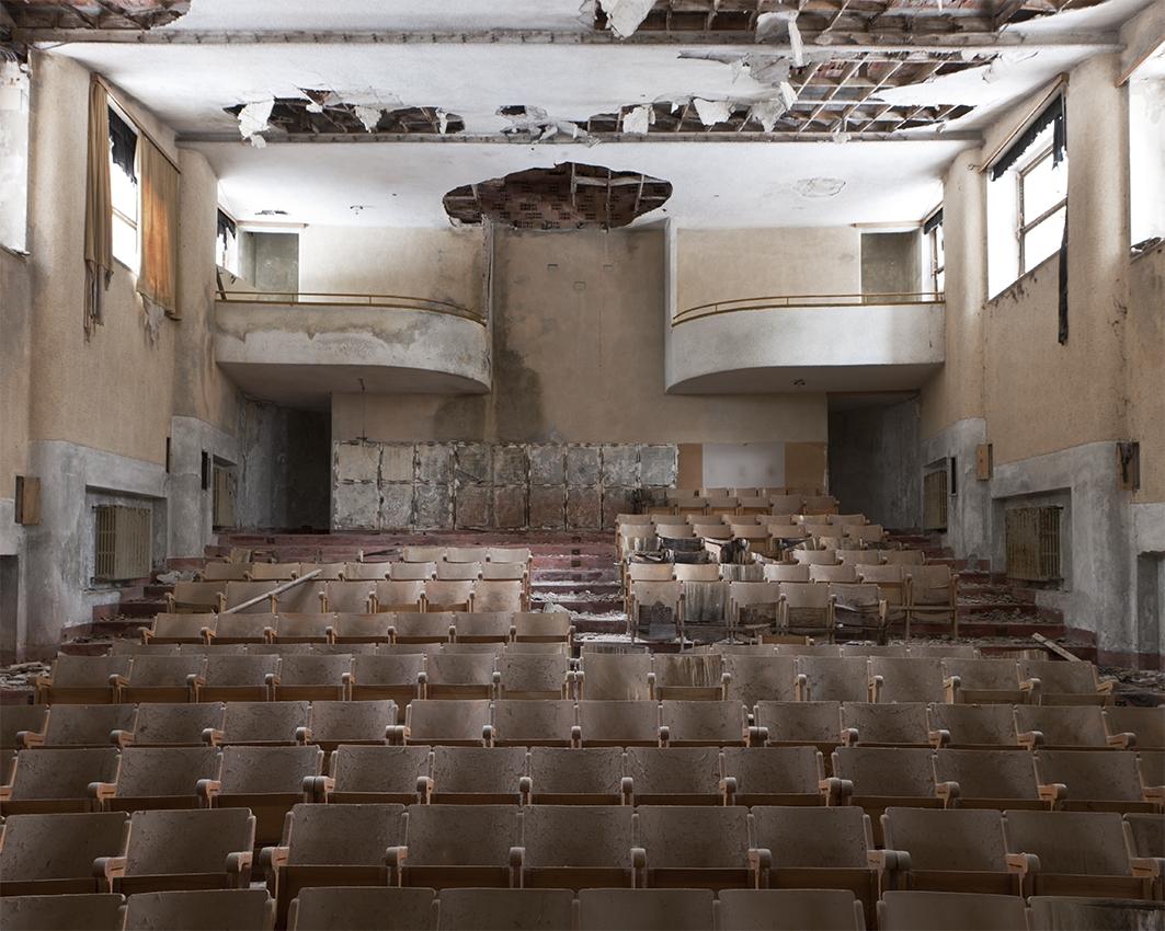 Amphithéâtre © Stéphane Louis, 2012