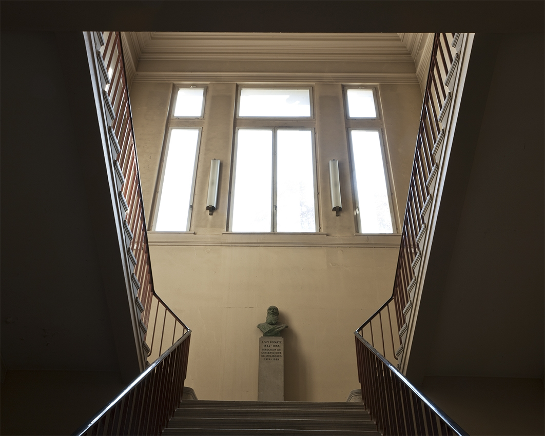 Escalier © Stéphane Louis, 2012