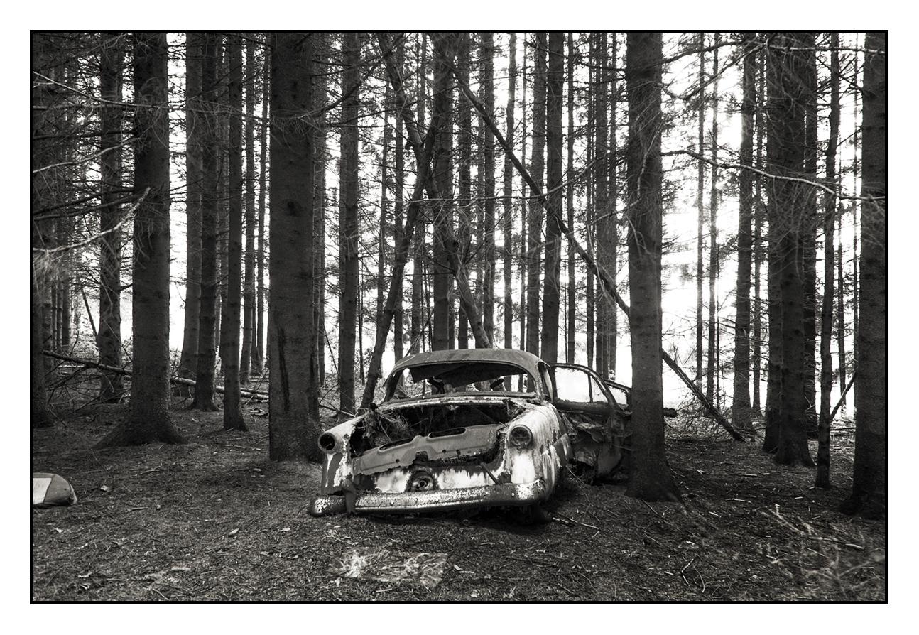 Cimetière de voitures © Stéphane Louis, III. 09