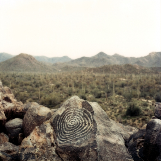 Pétroglyphes, Arizona © Stéphane Louis, 2005