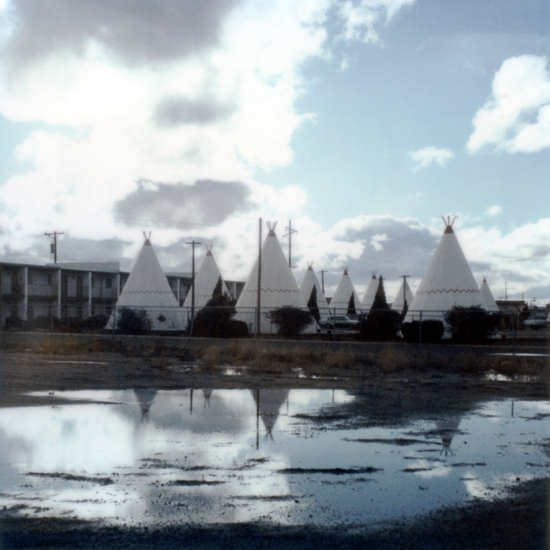 Wigwam Motel, Californie © Stéphane Louis, 2005