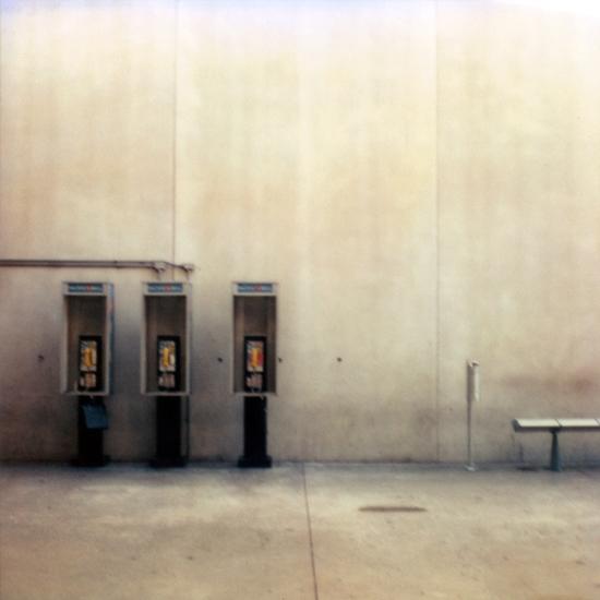 Aéroport de Los Angeles, Californie © Stéphane Louis, 2005