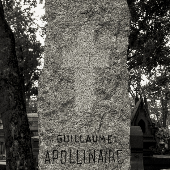Guillaume Apollinaire (1880-1918) © Stéphane Louis, 2014