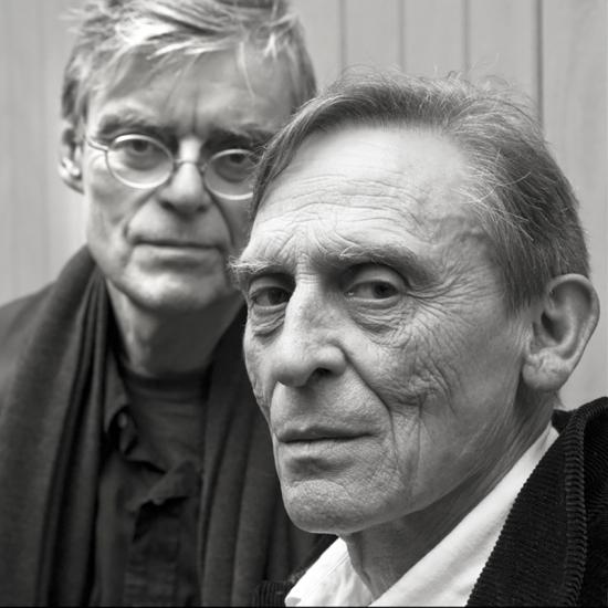 Jacques Abeille & François Schuiten © Stéphane Louis, 2010